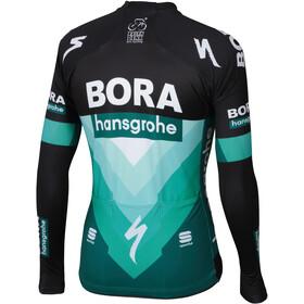 Sportful Team Bora-HG Bodyfit Pro Thermal Pyöräilypaita pitkähihainen Miehet, black-green